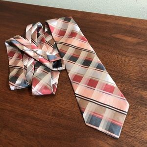 Stunning design MURANO silk tie